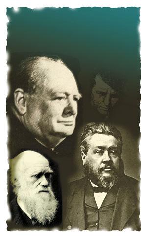 Darwin-Churchill-Spurgeon