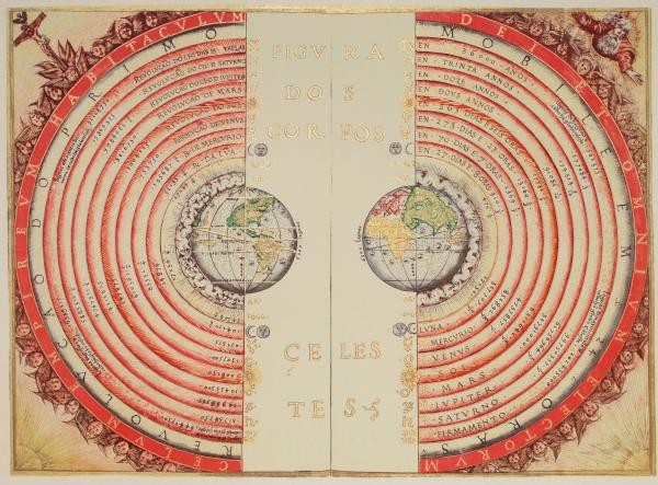 Ptolemaic-geocentric