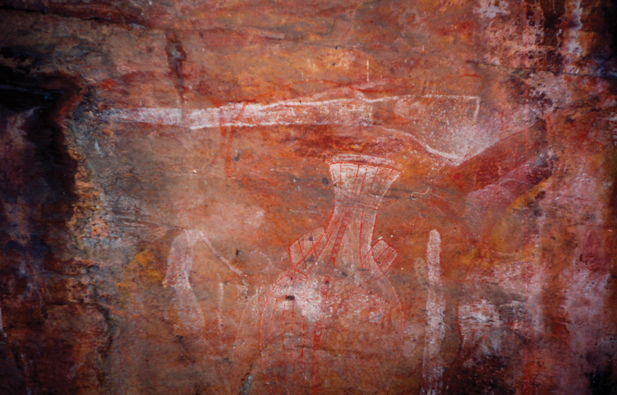 AboriginalRockPainting