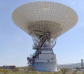 Goldstone 64-metre (210-feet) antenna