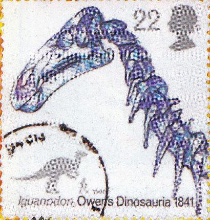 1956-iguanodon-stamp