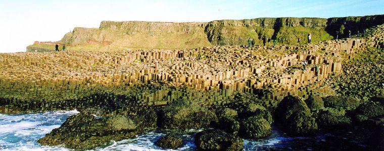 Giant's Causeway columns