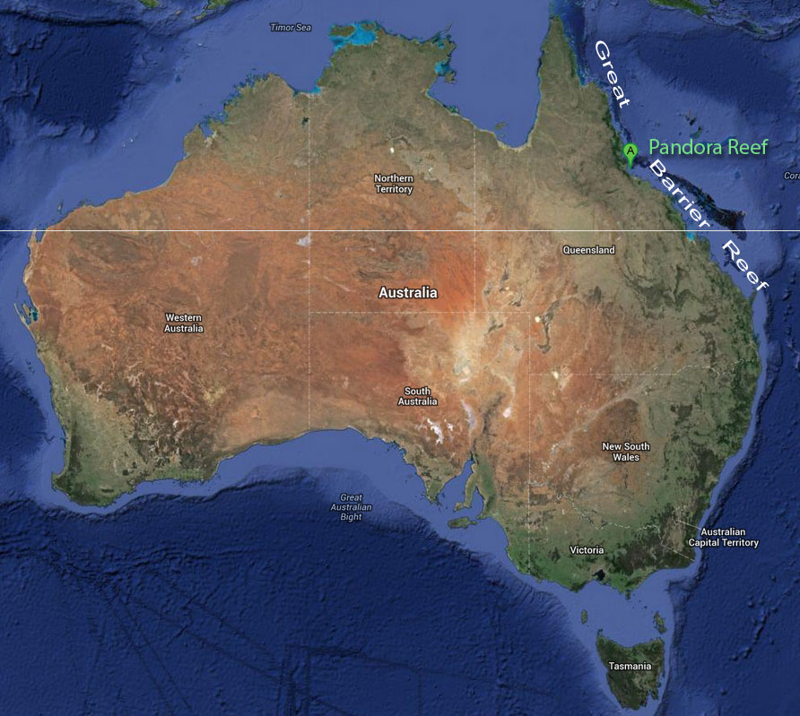 Barrier Reef Australia Map.Age Great Barrier Reef Creation Com