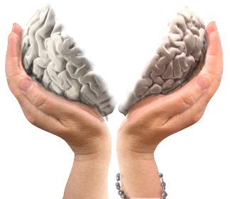 Brain split between atheism and theism