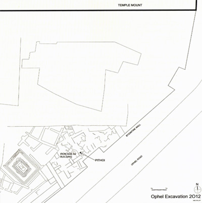 plan-mazars-Ophel-excavations