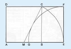 a golden rectangle diagram