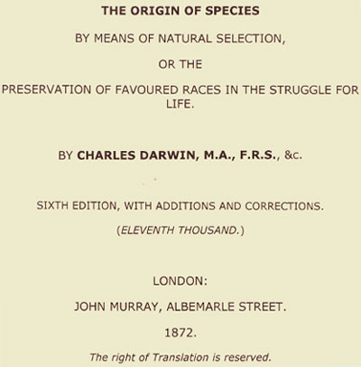 The-origin-of-species