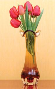 Vaas met bloemen - ontstaan spontaan door evolutie?