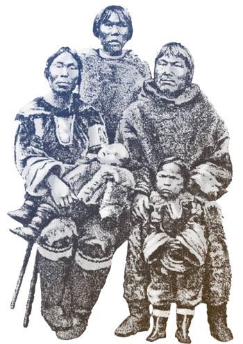 La famille d'Abraham Ulrikab