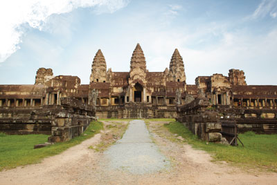 Did Angkor really see a dinosaur - creation com