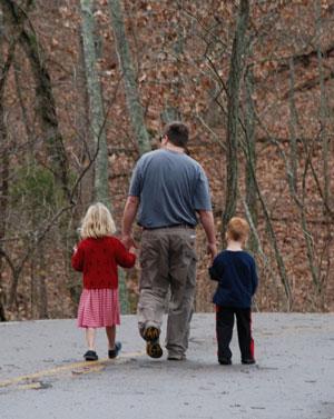 Dad-children