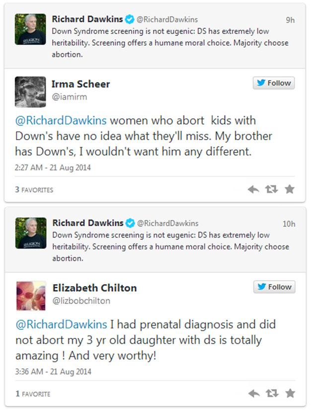 Dawkins-DS abortion - creation com