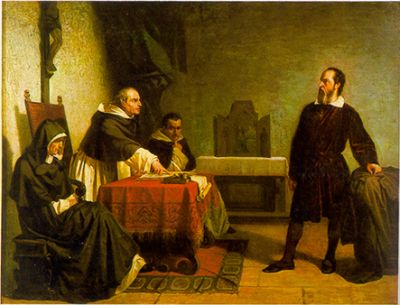 Galileo-facing-the-Roman-Inquisition