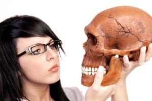 student-skull