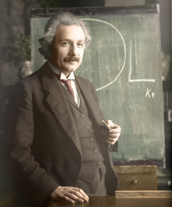 Dice il Saggio, citazioni di persone famose e di personaggi meno famosi - Pagina 4 Einstein