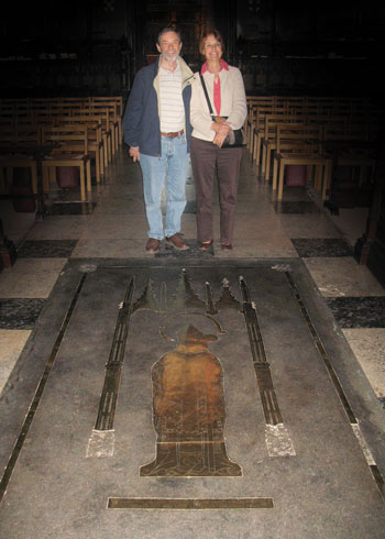 Concealed Under Carlisle Cathedral Carpet Dinosaurs