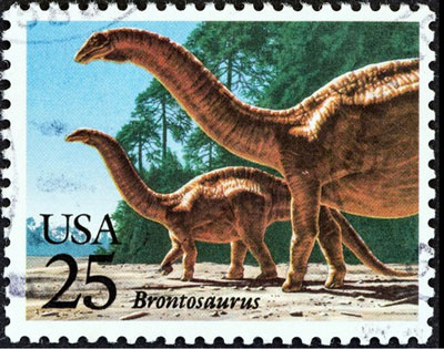 Brontosaurus-stamp