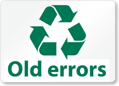 recycle-old-errors