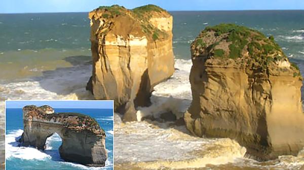 island-arch