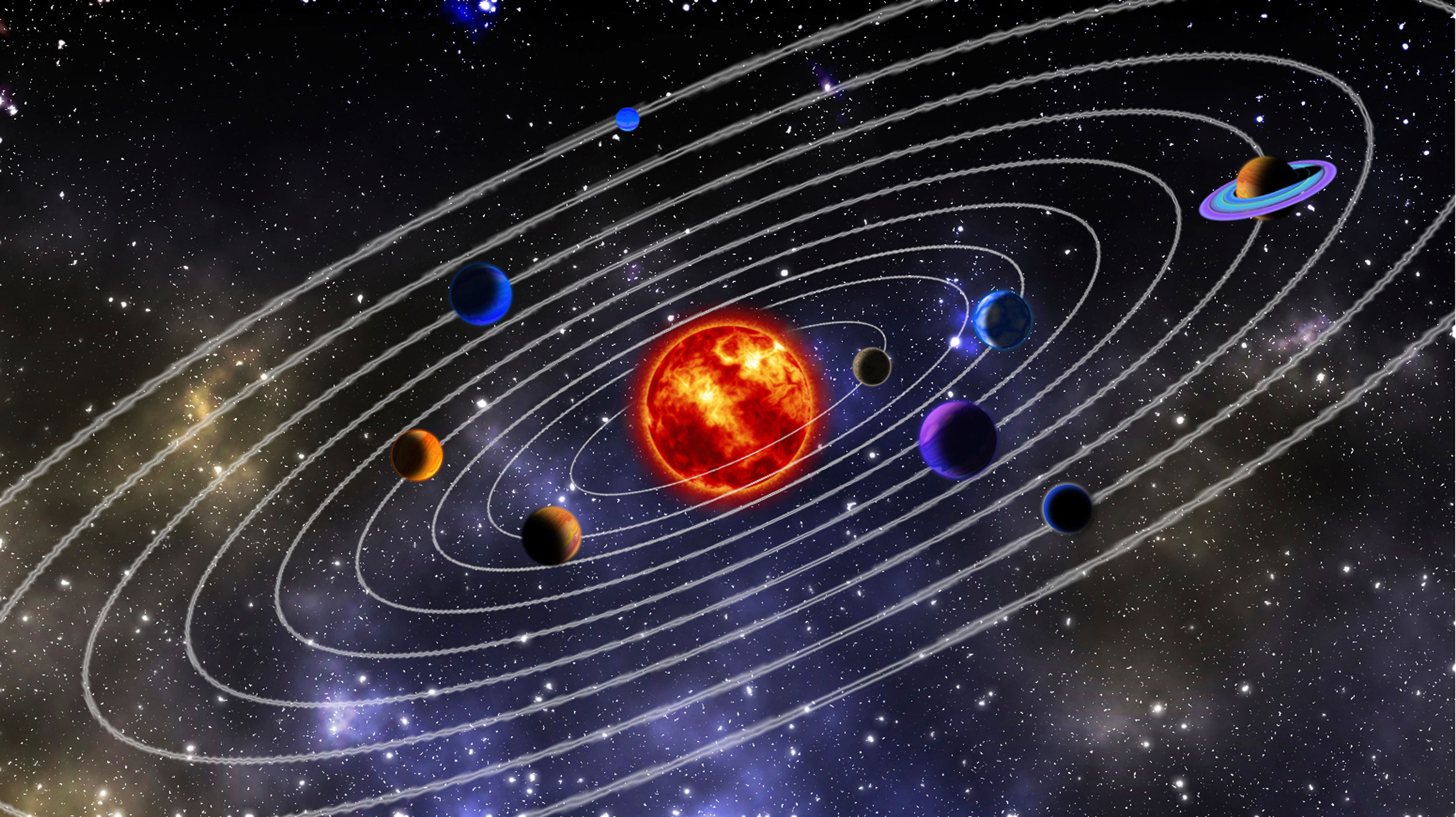 example of the solar system - photo #39