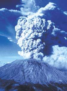 1980爆发的圣海伦火山