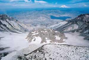 圣海伦火山口