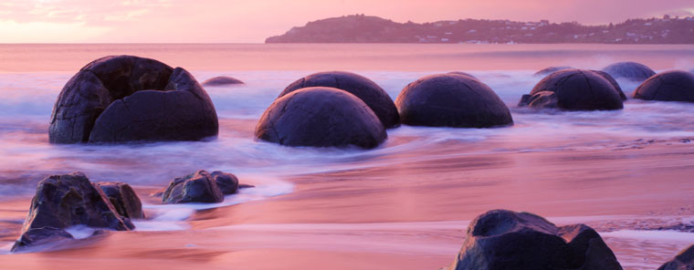 Moeraki Boulders New Zealand Creation Com