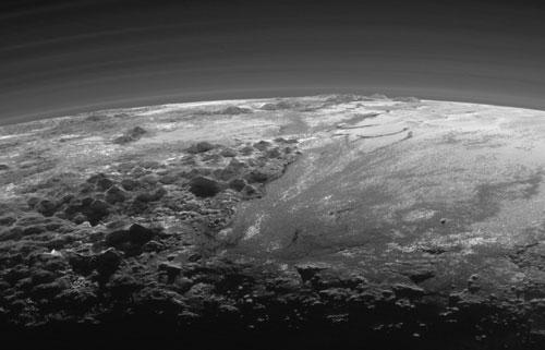 Pluto-mountain