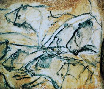 lions-painting-Chauvet-cave
