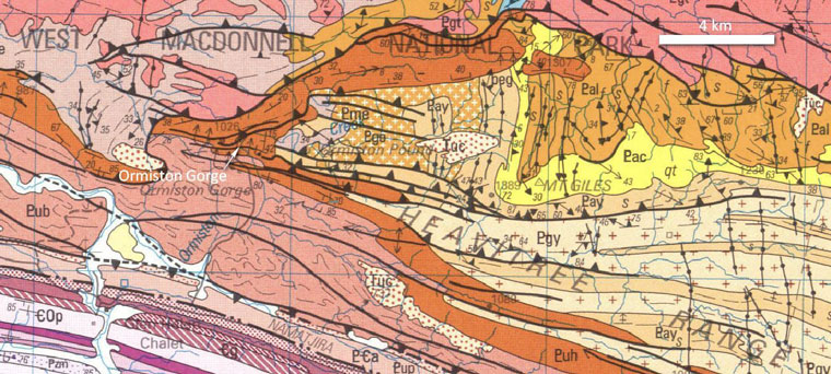 Geological-map