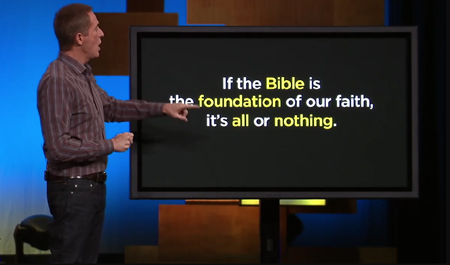 Andy Stanley rebuttal - creation com