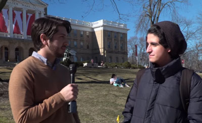 Interview shows public universities program students with
