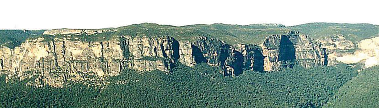 noahs flood helped form escarpments creationcom