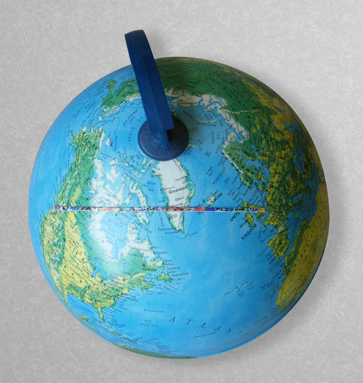 Mercators-globe