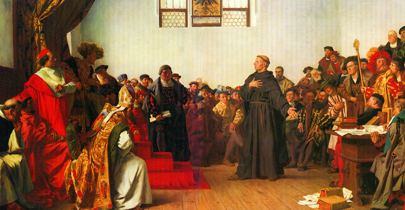 Luther-on-trial-Worms