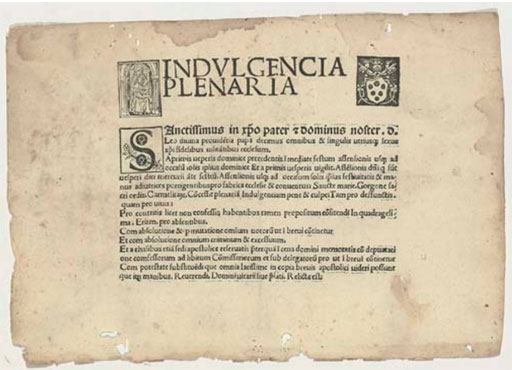 Plenary-Indulgence-certificate