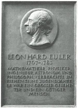 leonhard euler biography