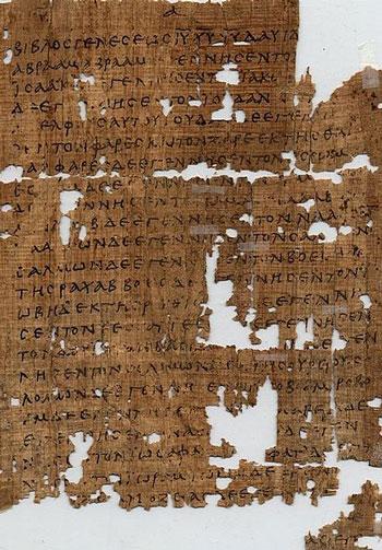 matthew-Oxyrhynchus-Papyri