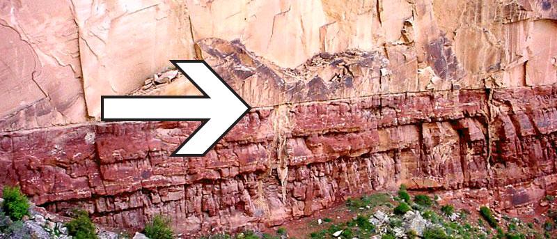 Hermit-Shale-Coconino-Sandstone