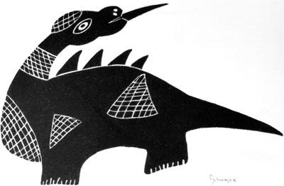 sketch-dinosaurian