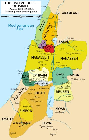 tribes-of-israel-map
