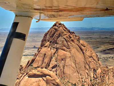 Spitzkoppe-aerial-view