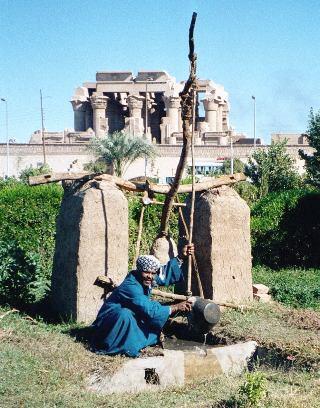 Egypt-KomOmbo-Shaduf
