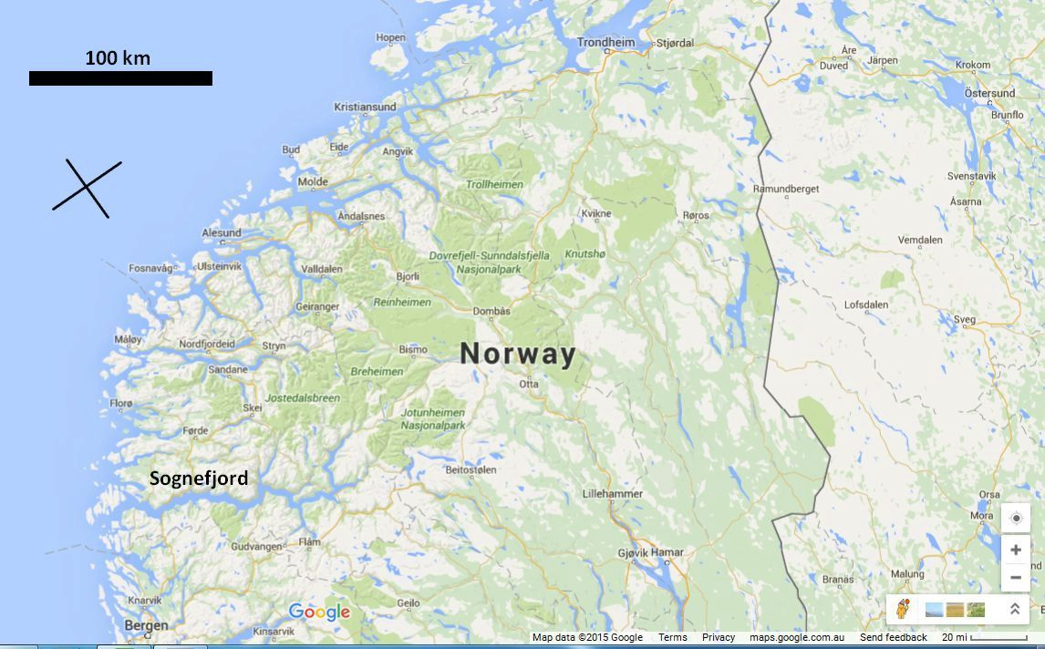Norway-google-marked