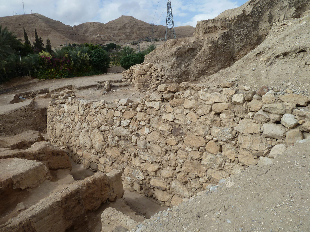 ancient-stone-retaining-wall-at-Jericho
