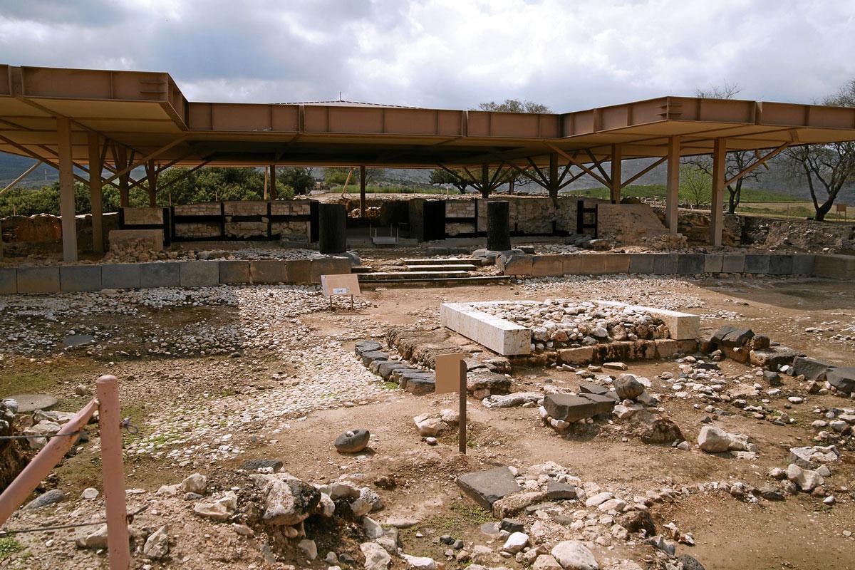 Tel-hazor-national-park-ceremonial-palace