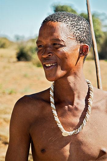 African-tribeman
