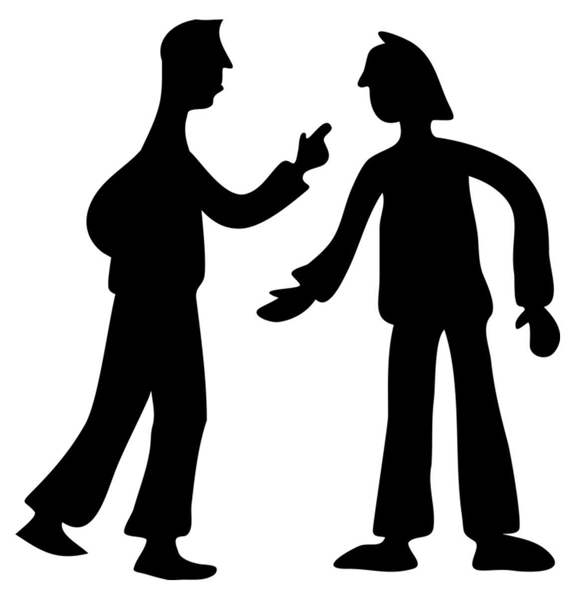 silhouette-debate