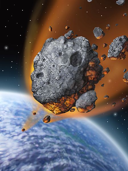 Asteroid-falling-to-Earth