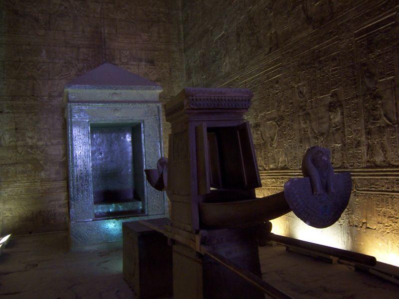 Edfu-Horus-Temple-Egypt-Shrine